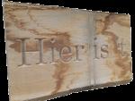 huisbord hout